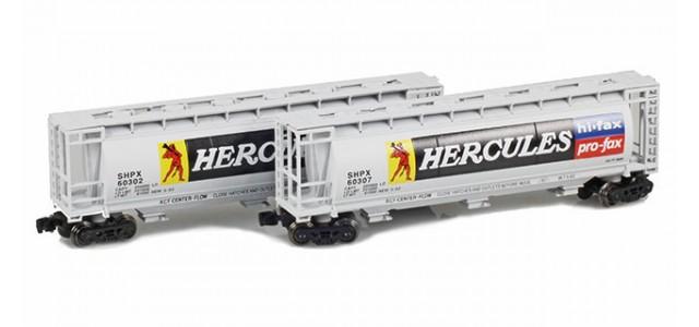 Full Throttle FT-1051 SHPX - Hercules 51' Covered Cylindrical Hoppers | 2-Car Set