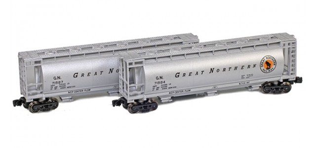 Full Throttle FT-1056 Great Northern 51' Covered Cylindrical Hoppers | 2-Car Set