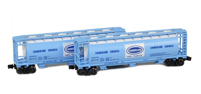 Full Throttle FT-1060 SHPX - Cumberland 51' Covered Cylindrical Hoppers | 2-Car Set