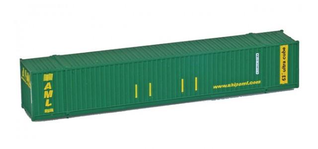 MCZ MCZ-015 AML (Alaska Marine Line) 53' Hi-Cube Corrugated Container