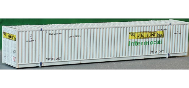 MCZ MCZ016 JB Hunt Green Intermodal 40' Hi-Cube Container