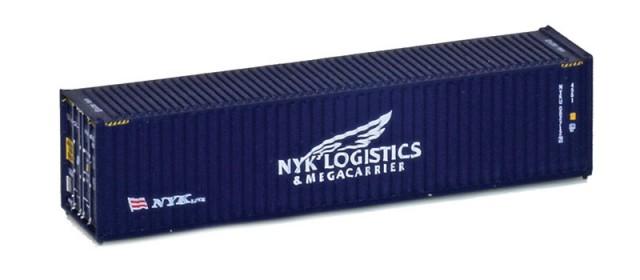 MCZ122 NYK Logistics 40' Hi-Cube Corrugated Container