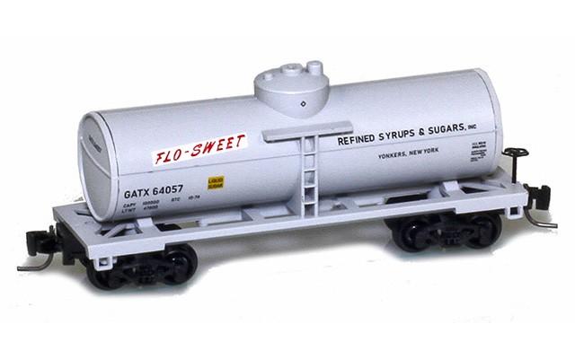 Micro-Trains 53000510 GATX - Flo-Sweet 39' Single Dome Tank Car #64057