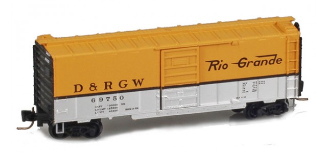 Micro-Trains 50000902 D&RGW 40' Boxcar Single Door #69789