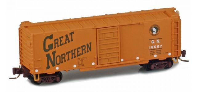 Micro-Trains 50000930 GN 40' Single Door Boxcar #18007