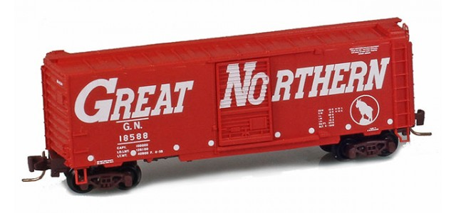 Micro-Trains 50000950 GN 40' Standard Boxcar Single Door #18588