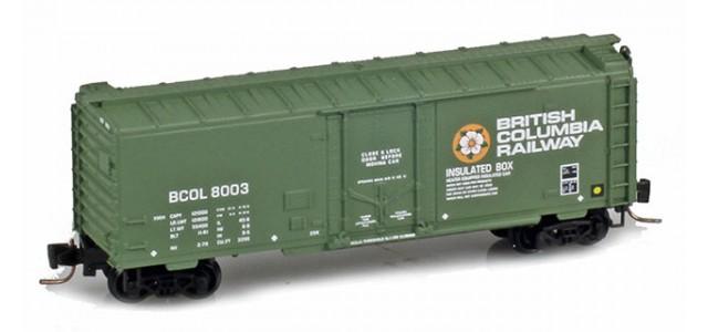 Micro-Trains 50200161 BCR 40' Plug Door Boxcar #8003