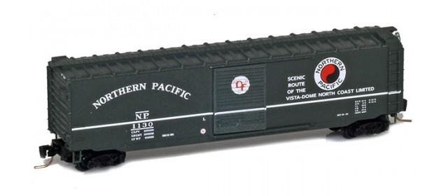Micro-Trains 50500452 NP 50' Standard Boxcar Single Door #1168