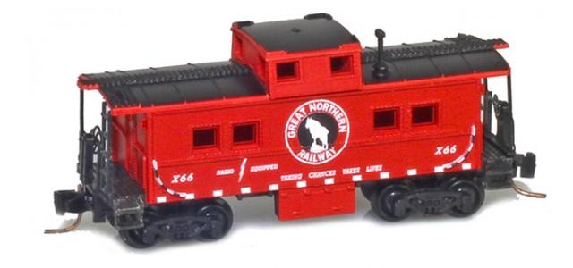 Micro-Trains 53500450 GN X66 Center Cupola Caboose
