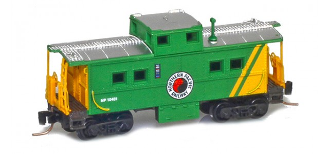 Micro-Trains 53500470 NP Center Cupola Caboose #10401