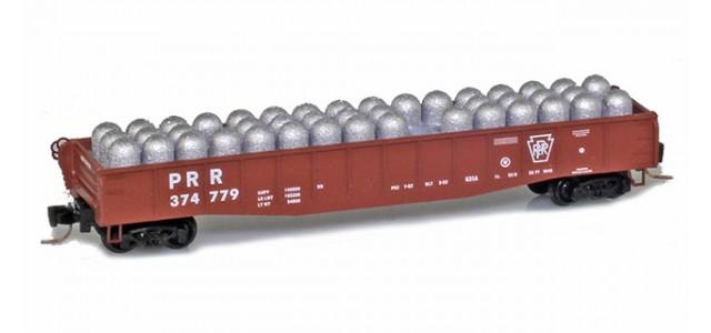 Micro-Trains Line 52200392 PRR 50' Fishbelly Gondola #374779