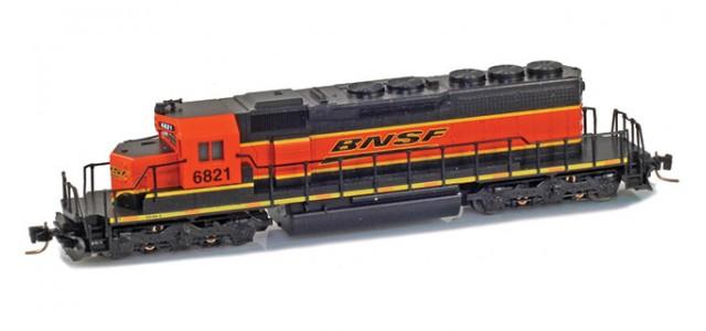 Micro-Trains Line 97001291 BNSF EMD SD40-2 #6821