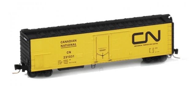 Micro-Trains 54800022 CN 51' Rivet Side Mechanical Reefer #231034
