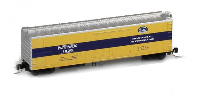 Micro-Trains 54800031 NYMX 51' Rivet Side Mechanical Reefer #1025