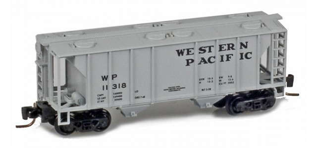 Micro-Trains 53100252 WP PS-2 2-Bay Covered Hopper #11325