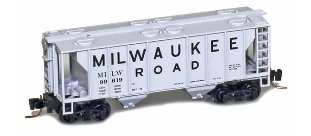 Micro-Trains 53100362 Milwaukee Road PS-2 Covered Hopper #99633