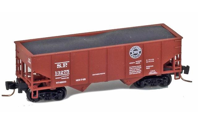 Micro-Trains 53400121 SP 33' Two-Bay Rib-Side Hopper #13275