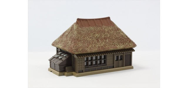 Rokuhan S024-1 Thatched Roof Farmhouse