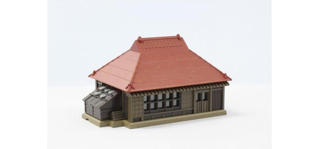 Rokuhan S025-1 Farmhouse Red Metal Roof