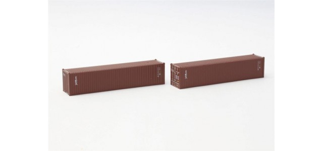 Rokuhan A101-3 Textrainer Group 40' Container | 2-Pack