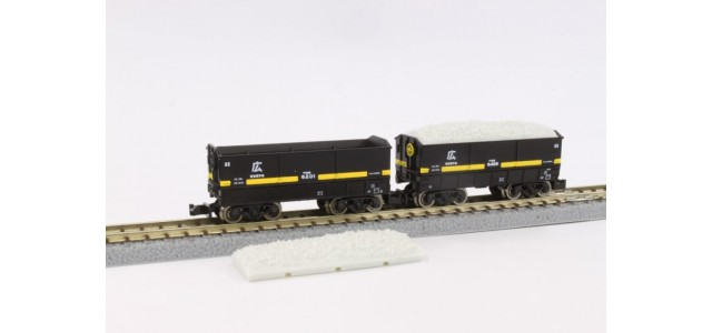 Rokuhan T005-2 Hopper SEKI 6000 Hiro Limestone Load | 2-Car Set