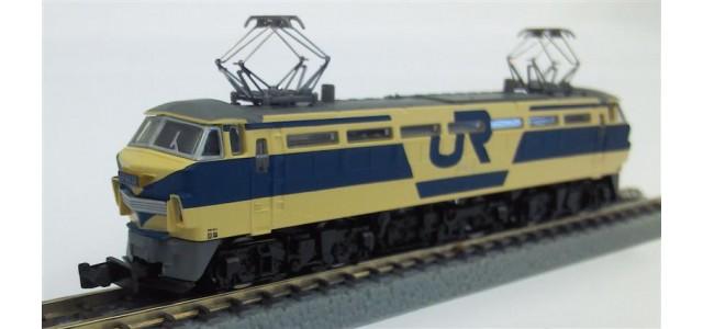 Rokuhan T008-2 EF66 Electric Locomotive    JNR EF66 Trail Color Version