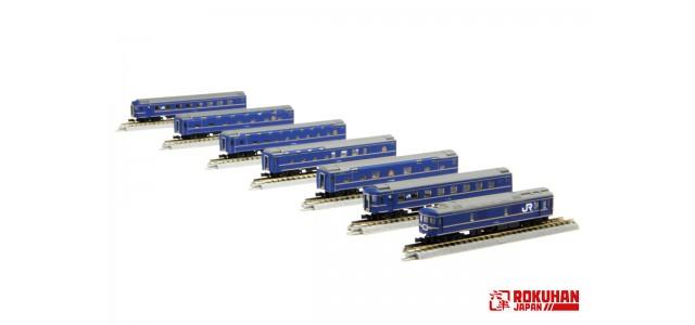 Rokuhan T016-1 JR Hokkaido | 7-Car Basic Set