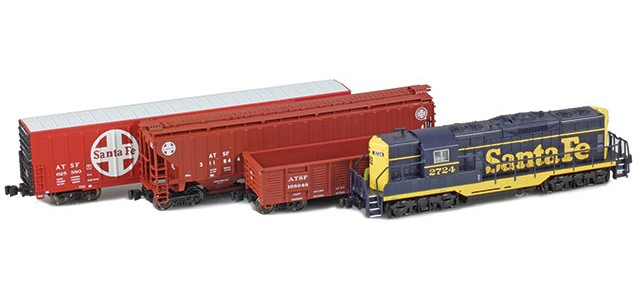 AZL ATSF EMD GP7 Starter Package