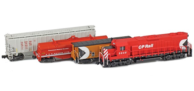 AZL Canadian Pacific Rail GP38 Starter Package