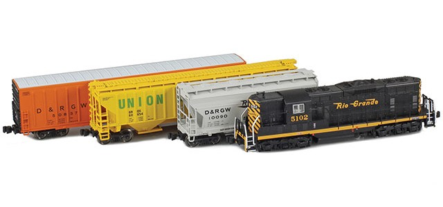 AZL D&RGW EMD GP7 Starter Package​
