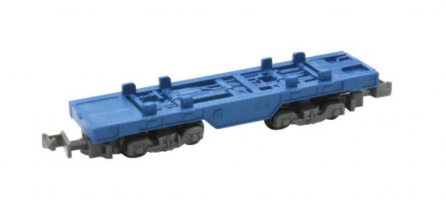 Rokuhan SA006-1 Z Shorty Container Car | Blue