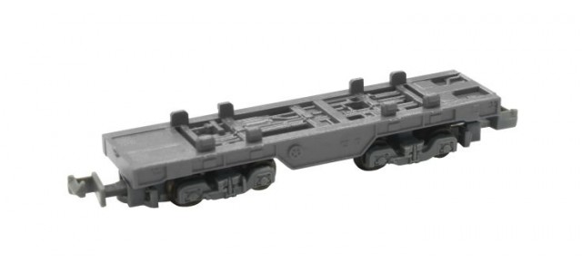 Rokuhan SA006-2 Z Shorty Container Car | Gray