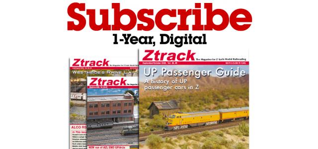 Ztrack Magazine 1-Year Subscription Digital