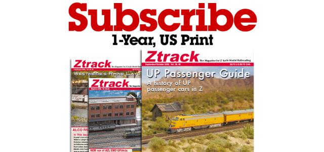 Ztrack Magazine 1-Year Subscription Print US